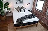 Breksta Calypso 12 Inch Gel Memory Foam Mattress Luxury Plush Feel CertiPur-US (Queen)