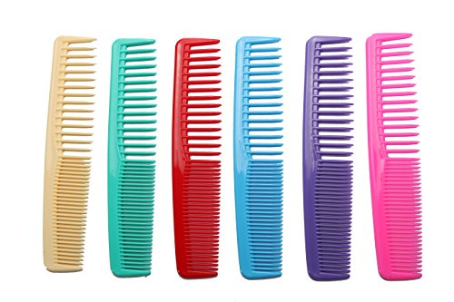 Daisy hair combs set (6 colors and 6 comb in pack) .Hair combs for women and for men (Best Comb For Women's Hair)
