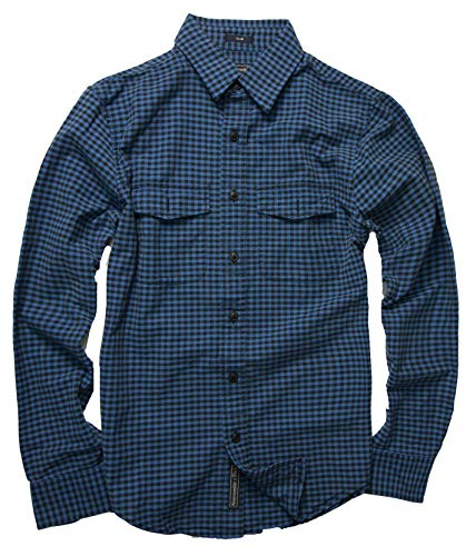 Abercrombie & Fitch Men's Button Down Shirt (Slim Blue Oxford, S) from Abercrombie & Fitch