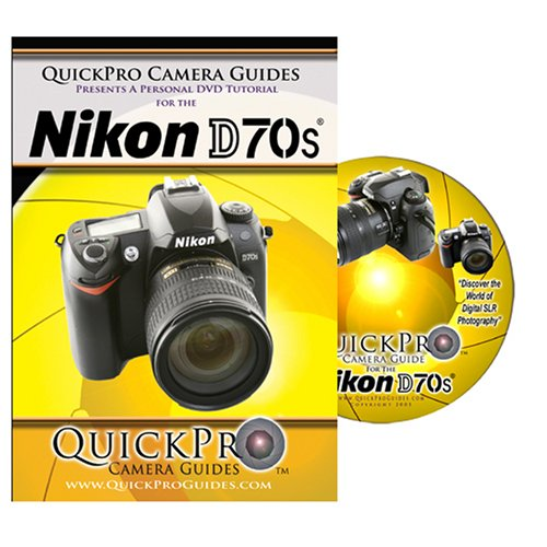 Nikon D70s Instructional DVD by QuickPro Camera ()
