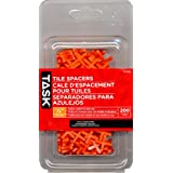Task Tools T37293 Tile Spacers, 1/8-Inch