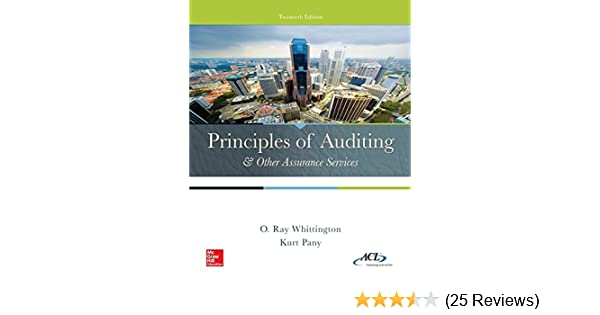 Principles Of Auditing Other Assurance Services Irwin