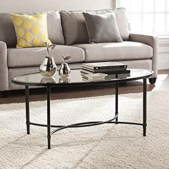 Amazon.com: Hotspot de muebles – mesa de centro – negro – de ...