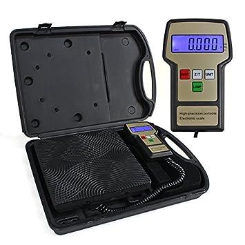BÁSCULA DE CARGA DIGITALE Refrigerante SC03, hasta 100 kg, 5 gr. - Resolución