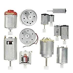 Lanfy 5 Sets 12 Kinds Motor Gear Pack DIY Model Parts Micro DC Motor