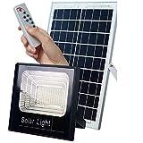 Refletor Solar Holofote 25w Led Real Branco Frio Ip67 Jardim