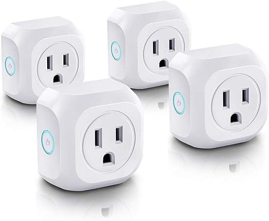 BUY 2,3,4,...Discounted-NEW WiFi Smart Plug Works with Amazon Alexa