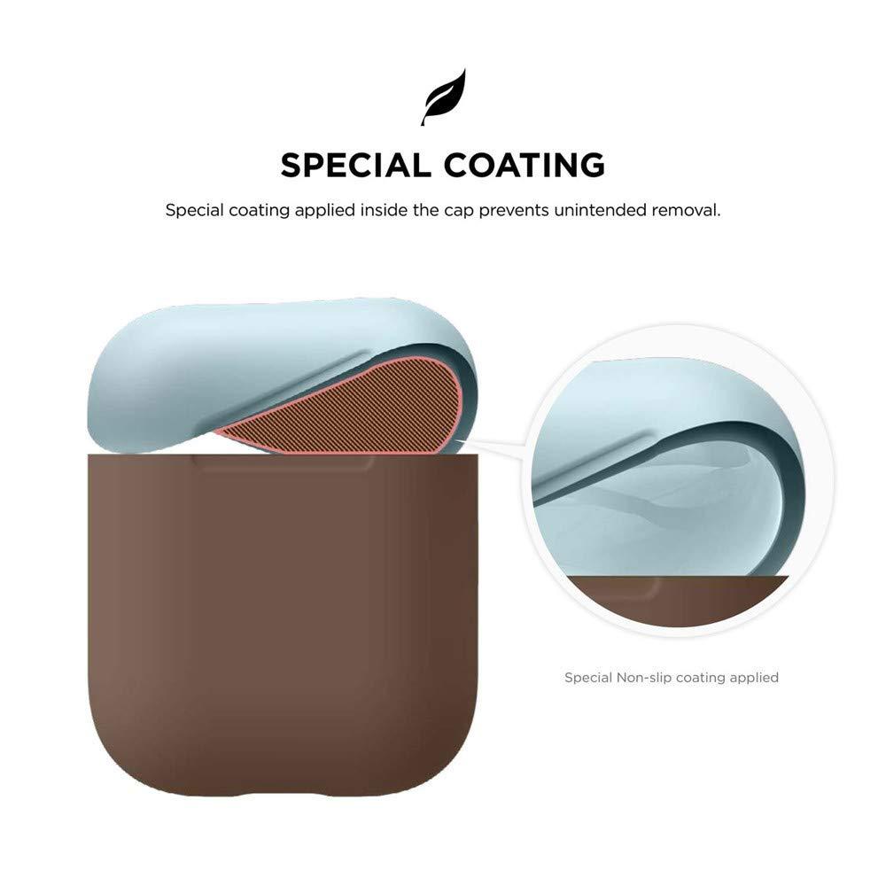CAOQAO - Carcasa de Silicona para Apple AirPods (antigolpes ...