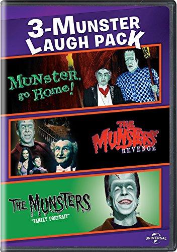 - Munster, Go Home! / The Munsters' Revenge / The Munsters: Family Portrait 3-Munster Laugh Pack