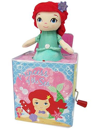 - Disney Princess Ariel Jack in The Box