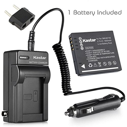 ck) and Charger for Panasonic DMW-BCF10 A59 & Lumix DMC-FS12 FS15 FS25 FS4 FS42 FS6 FS7 FX40 FX48 FX550 FX580 F2 F3 FH1 FH20 FH22 FH3 FT3 FT4 FX68 FX700 FX75 TS1 TS2 TS3 TS4 ()