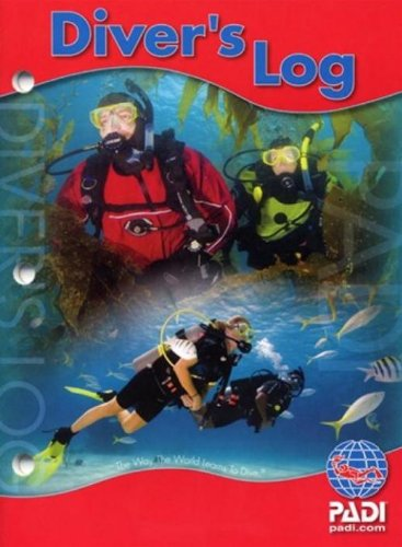 PADI Diver's Log Book (3 Ring Log Book)