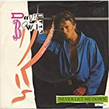 David Bowie - Never Let Me Down (Single Version) - EMI America - 006 20 1996 7