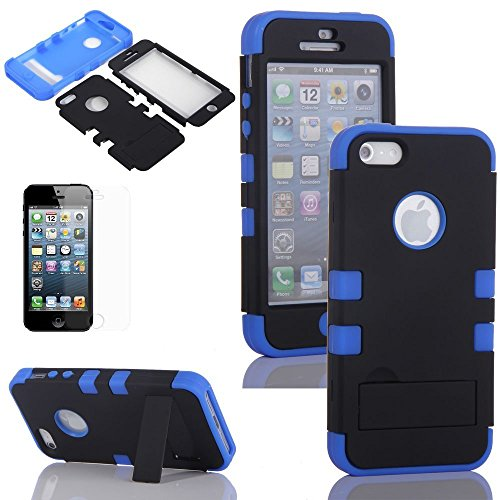 ATC Case Rubberized Silicone Cover for iPhone 5