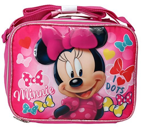 Mouse Lunch - Disney Minnie Mouse Soft Lunch kit box bag