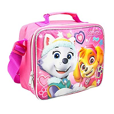 New Nickelodeon Girls' Paw Patrol Pup Power Pink Lunch Bag: Toys & Games