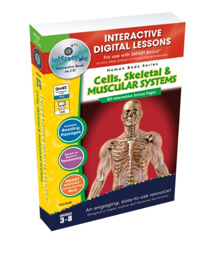 Cells, Skeletal & Muscular Systems - Digital Lesson Plan (Human Body) (Human Body (Classroom Complete Press))