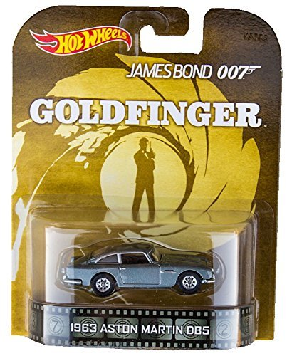 "Hot Wheels 1963 Aston Martin DB5 James Bond 007 ""Goldfinger for sale  Delivered anywhere in USA"