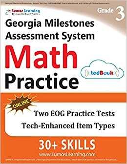 Georgia Milestones Assessment System Test Prep 3rd Grade Math