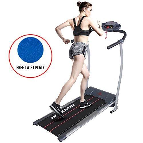 H.B.S Electric Motorized Treadmill Portable Folding Fitness Exercise Home Gym Running Machine 500W by HBS by HBS