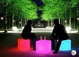 BlinkROCK Huge LED Cube Light Chair Stool Table Furniture