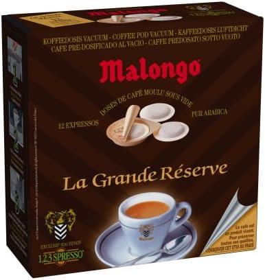 Malongo EXP 240 Cafetera expreso Oh Expresso. Black 2 tazas 24 ...