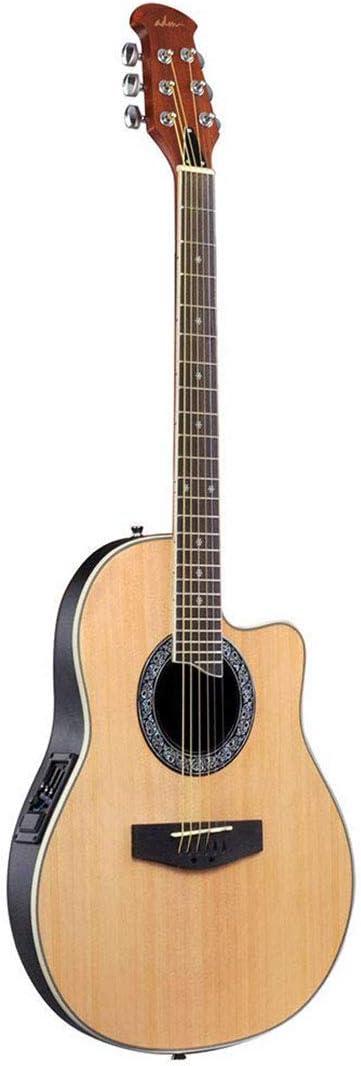 Guitarra eléctrica acústica de tamaño completo con 3 bandas EQ de ...