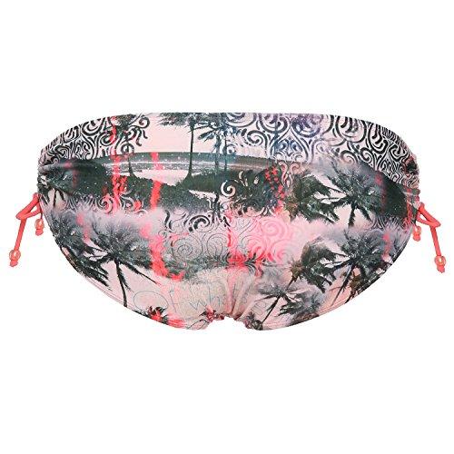 Rehall brief bikini para mujer, diseño hipster 86573 Varios colores - Multicolore - Hawaii Salmon