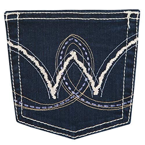 Vaqueros Para Oscuro Pantalones Wrangler Mujer nCqBOwZUzZ