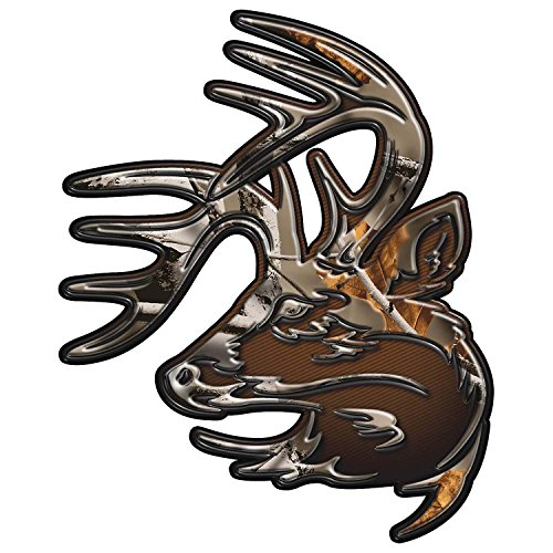 "Legendary Whitetails Truck Buck Decal Magnum 9"" x 11"" Big Game Field Camo X-Large"