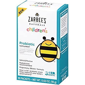 Amazon Com Zarbee S Naturals Children S Probiotic