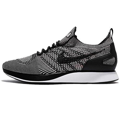 Nike Heren Air Zoom Mariah Flyknit Racer, Bleek Grijs / Zwart-solar Rood, 7,5 M Ons