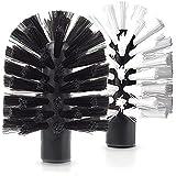 Brush Hero BH107 Replacement Brushes, Pair (White/Black)