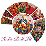 EocuSun Kids Ball Pit Large Pop Up Toddler Ball