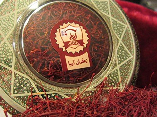 Aria saffron organic premium all red saffron zafran for Aria persian cuisine