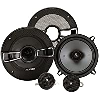Kicker 41KSS54 5-1/4 2-Way Component Speaker System (Black)