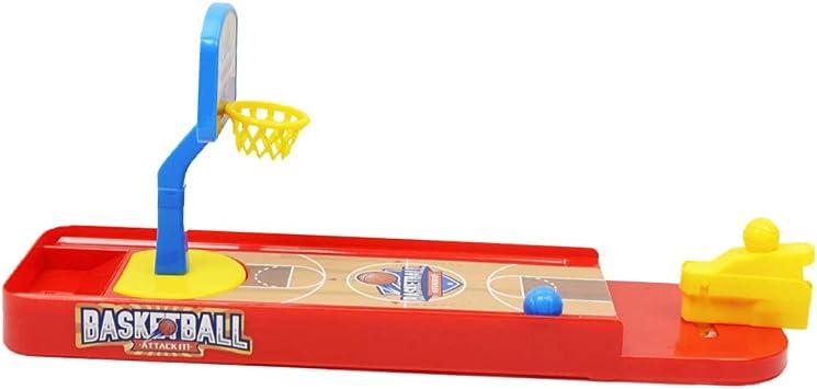 Juego de Baloncesto de Mesa de Familia Plástico Portátil Regalo ...