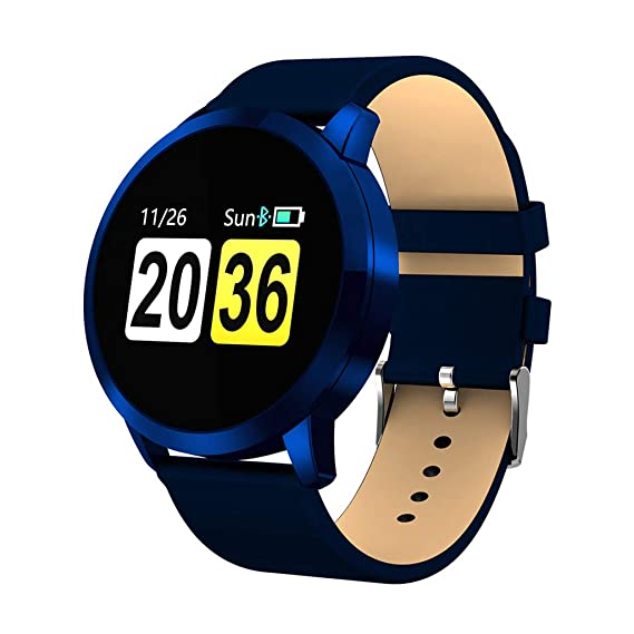 Smart Waterproof Sports Watch Watch Heart Rate Blood Oxygen Monitor OLED Screen Bluetooth Pedometer Male Female