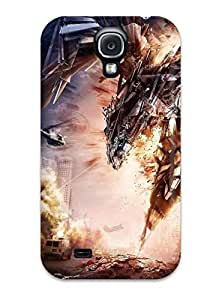 New Premium ZippyDoritEduard Transformers Age Of Extinction Skin Case Cover Excellent Fitted For Galaxy S4