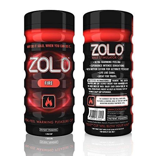 Zolo Fire Cup, Male Masturbator