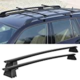 Jeep Grand Cherokee Roof Rack Crossbars for 2011-2017 Black (Only Fit LIMITED and OVERLAND) Review