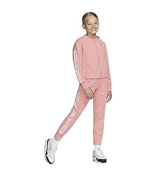 Nike G NSW TRK Suit Tricot rosa: : Sport & Freizeit