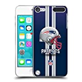 Official NFL Helmet New England Patriots Logo Hard Back Case for iPod Touch 5th Gen / 6th Gen