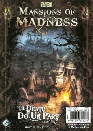 Fantasy Flight Games FFGMAD04 Mansions Of Madness Til Death Do Us Part