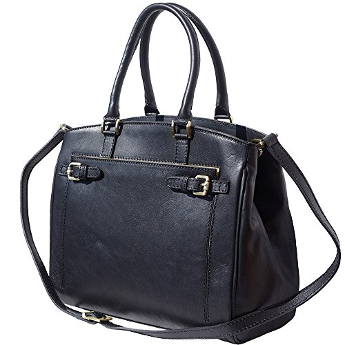 Shoulder Black bag smooth in tote 8501 leather 00Aw1qr