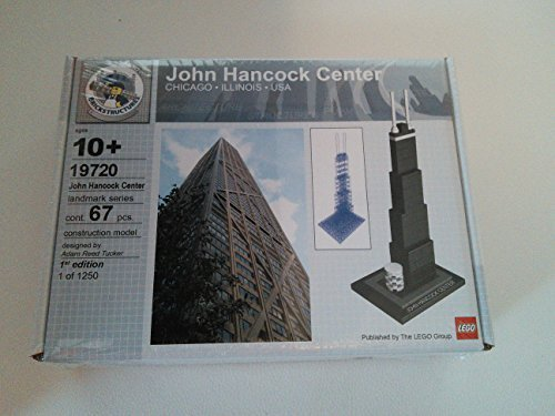 LEGO 19720 Architecture 1st Edition John Hancock Center - Diseñado por Adam Reed Tucker