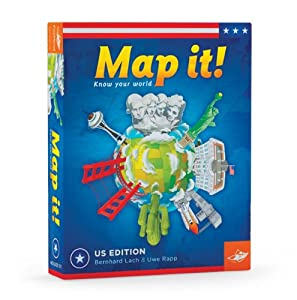 Amazoncom Map It USA Geography Game Toys Games - Us geography map game