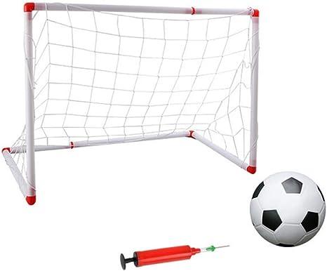 BESPORTBLE Mini Red de Fútbol Desmontable Puerta de La Puerta de ...