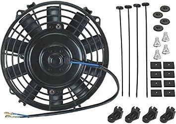 American Volt Replacement Upgrade 2-bolt 3-bolt 12-Volt Electrical Fan Motor 80w-130w Power Size 120-Watt