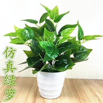 Wang Shunlida Kunstliche Blumen Pflanzen Grune Blatter Kleine